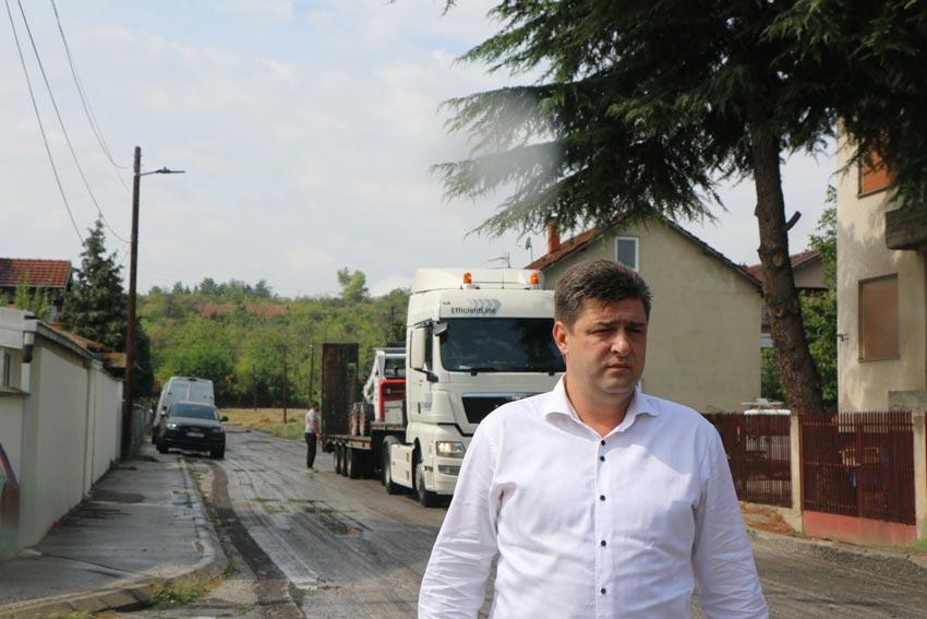 Фото од градоначалникот Александар Наумоски, направена на улица